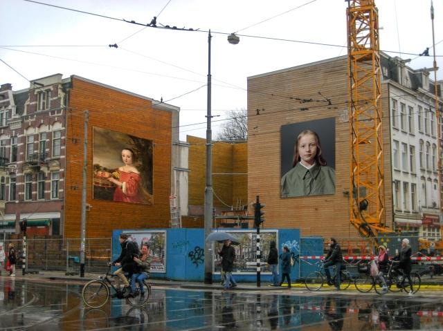 Impressie van mogelijke locatie hoek Ferdinand Bolstraat - Ceintuurbaan